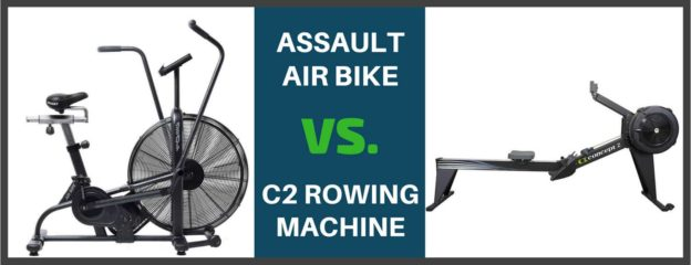 Concept 2 Rower vs  Assault Bike/Airdyne - Bretts Fitness Tips