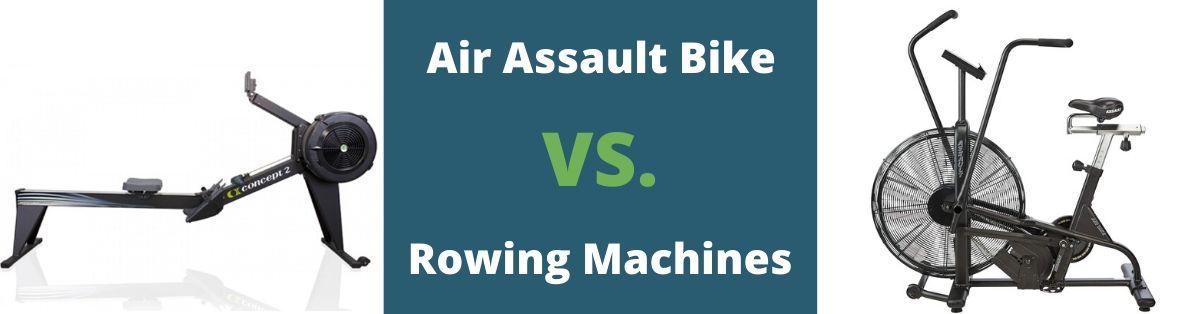 Concept 2 Rower Vs Assault Bike Airdyne Bretts Fitness Tips