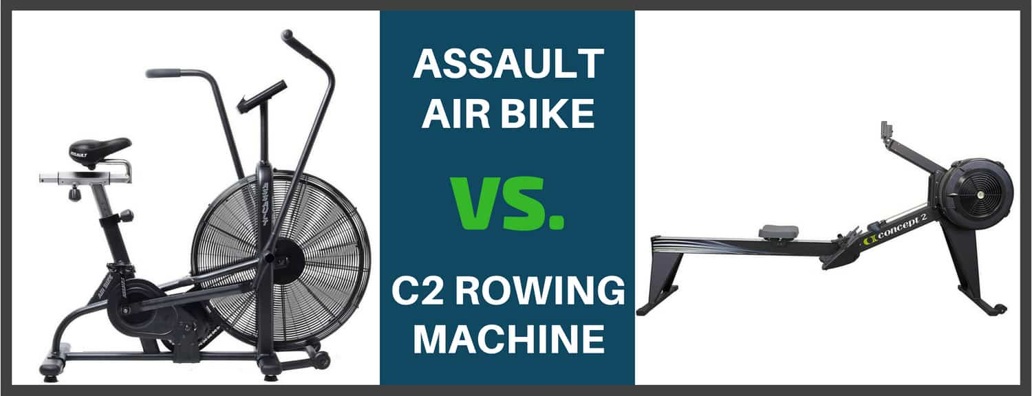 Concept 2 Rower vs. Assault Bike/Airdyne - Bretts Fitness Tips